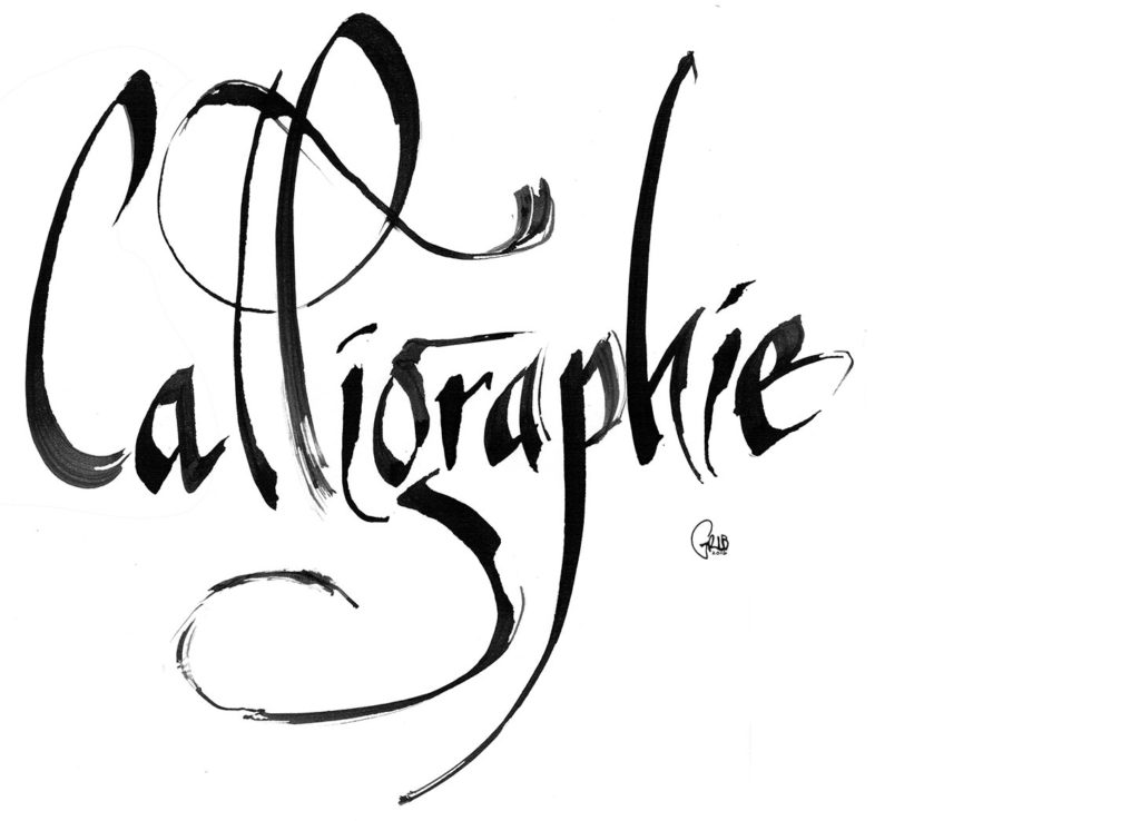 Grib Encre Calligraphie