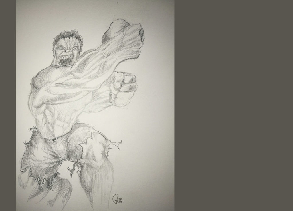 Grib Graphite Hulk