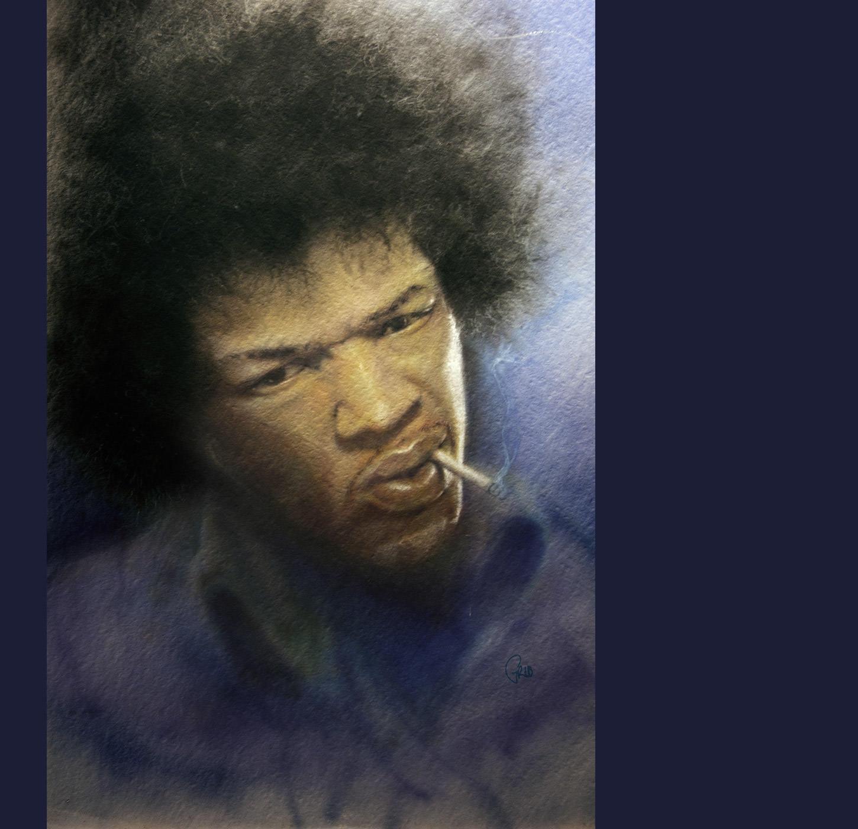 Grib Jimmy Hendrix Aerographe
