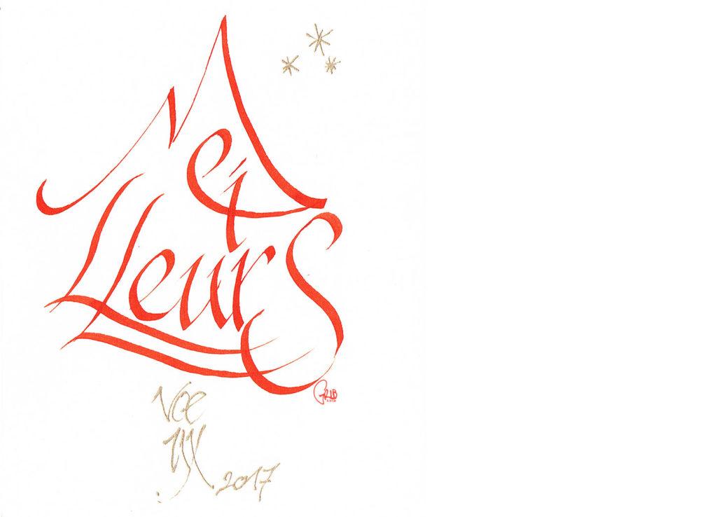 Grib Vœux2017 3 Encre Calligraphie